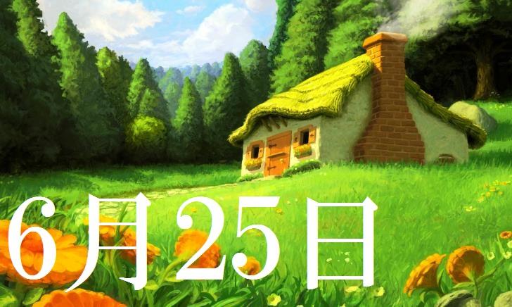 6月25日生まれの当たる365日誕生日占い(同性あり)