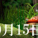 10月15日生まれの当たる365日誕生日占い(同性あり)