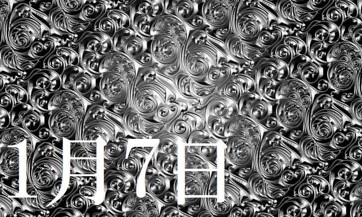 1月7日生まれの当たる365日誕生日占い(同性あり)